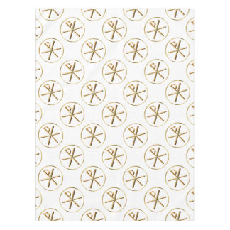 Chi-Rho glow Tablecloth