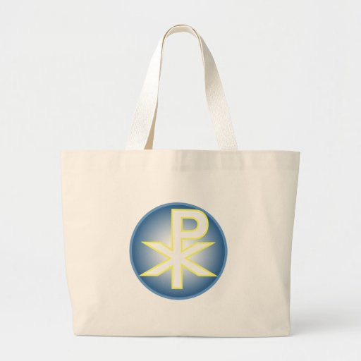 Chi Ro Christian Canvas Bag