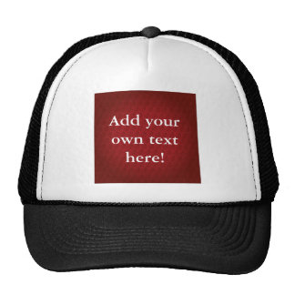 Chi Ro pattern in Red Trucker Hat