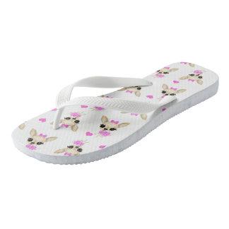 Chi Yum Yum Flip Flops (white) sm-logo