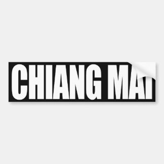 Chiang Mai Bumper Sticker
