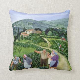 Chianti Classico Villa Trasqua Cushion