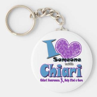 Chiari Awareness Key Ring