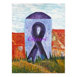 Chiari Awareness Postcard