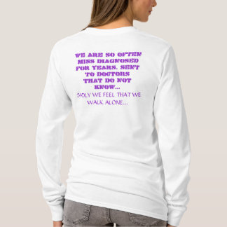 CHIARIANS; WE WALK  ALONE... T-Shirt