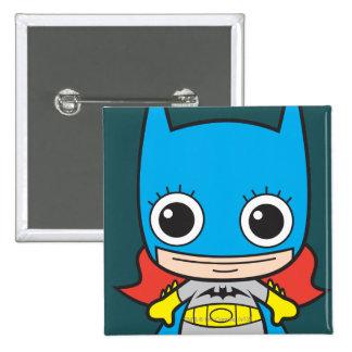 Chibi Batgirl 15 Cm Square Badge