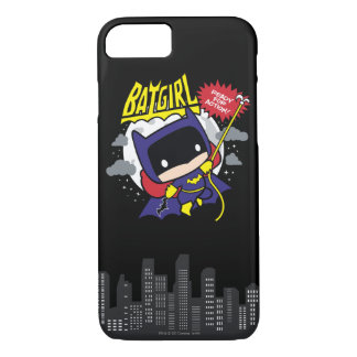 Chibi Batgirl Ready For Action iPhone 7 Case