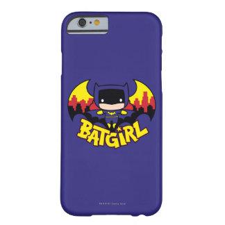 Chibi Batgirl With Gotham Skyline & Logo Barely There iPhone 6 Case
