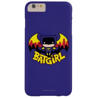 Chibi Batgirl With Gotham Skyline & Logo Barely There iPhone 6 Plus Case