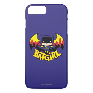 Chibi Batgirl With Gotham Skyline & Logo iPhone 8 Plus/7 Plus Case