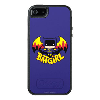 Chibi Batgirl With Gotham Skyline & Logo OtterBox iPhone 5/5s/SE Case