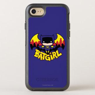 Chibi Batgirl With Gotham Skyline & Logo OtterBox Symmetry iPhone 8/7 Case