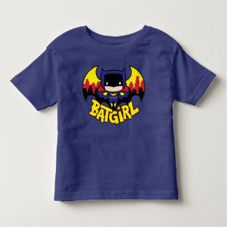 Chibi Batgirl With Gotham Skyline & Logo Toddler T-Shirt