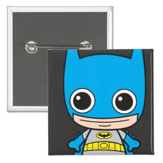 Chibi Batman 15 Cm Square Badge