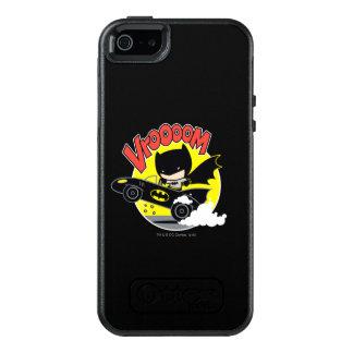 Chibi Batman In The Batmobile OtterBox iPhone 5/5s/SE Case