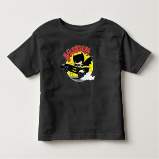 Chibi Batman In The Batmobile Toddler T-Shirt