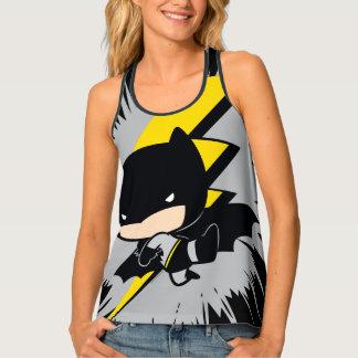 Chibi Batman Lightning Kick Singlet