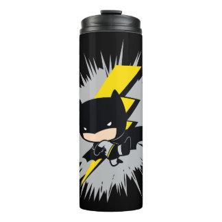 Chibi Batman Lightning Kick Thermal Tumbler