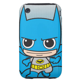Chibi Batman Running iPhone 3 Tough Case