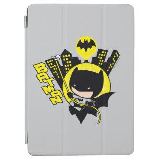 Chibi Batman Scaling The City iPad Air Cover
