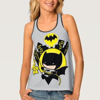 Chibi Batman Scaling The City Singlet