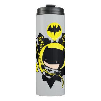 Chibi Batman Scaling The City Thermal Tumbler