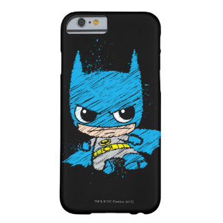 Chibi Batman Sketch Barely There iPhone 6 Case