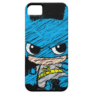Chibi Batman Sketch Barely There iPhone 5 Case