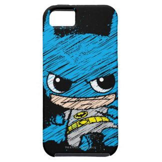 Chibi Batman Sketch iPhone 5 Case