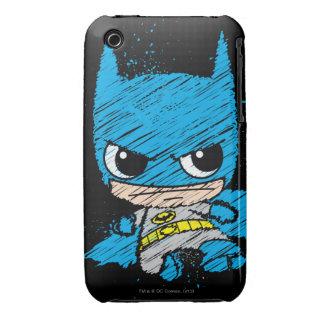Chibi Batman Sketch iPhone 3 Cover
