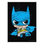 Chibi Batman Sketch Invite