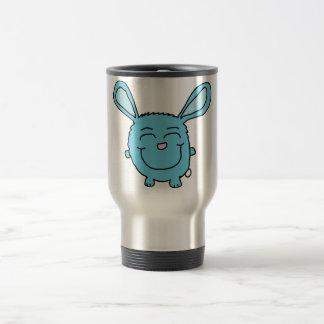 Chibi Blue Bunny Stainless Steel Travel Mug