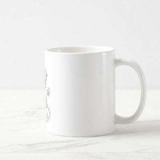 Chibi boy with a handful of pocky sticks coffee mug