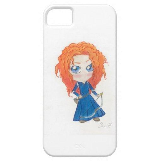Chibi brave phone case iPhone 5/5S cases