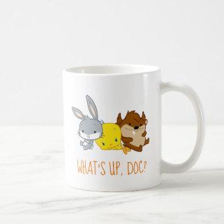 Chibi BUGS BUNNY™, TWEETY™, & TAZ™ Coffee Mug