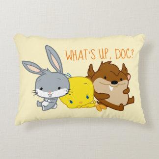 Chibi BUGS BUNNY™, TWEETY™, & TAZ™ Decorative Cushion