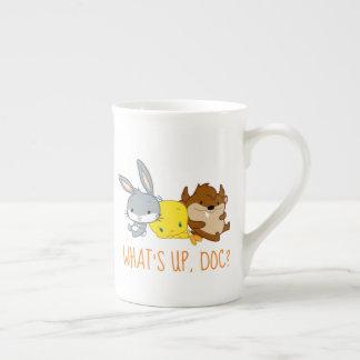 Chibi BUGS BUNNY™, TWEETY™, & TAZ™ Tea Cup