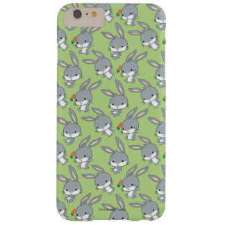Chibi BUGS BUNNY™ With Carrot Barely There iPhone 6 Plus Case