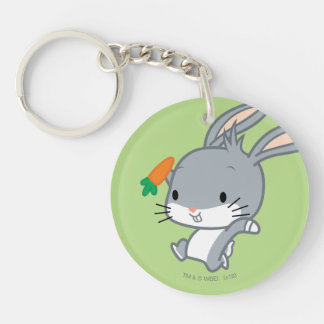 Chibi BUGS BUNNY™ With Carrot Key Ring