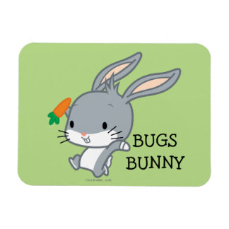Chibi BUGS BUNNY™ With Carrot Magnet