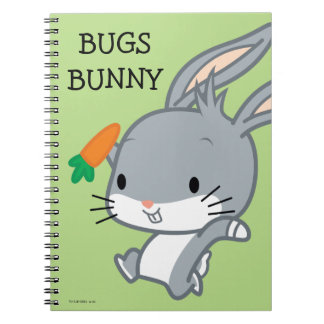 Chibi BUGS BUNNY™ With Carrot Notebook