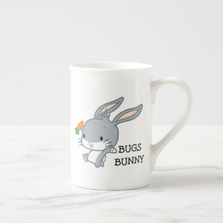 Chibi BUGS BUNNY™ With Carrot Tea Cup