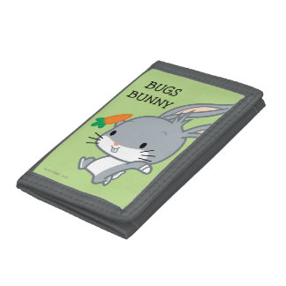 Chibi BUGS BUNNY™ With Carrot Tri-fold Wallet
