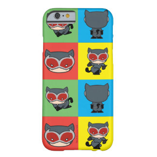Chibi Catwoman Character Poses Barely There iPhone 6 Case