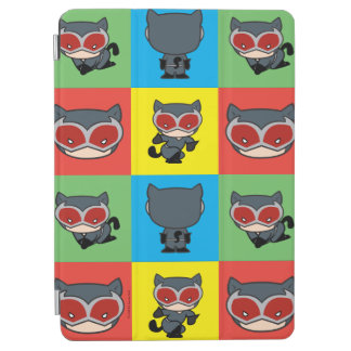 Chibi Catwoman Character Poses iPad Air Cover