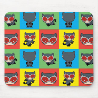 Chibi Catwoman Character Poses Mouse Pad