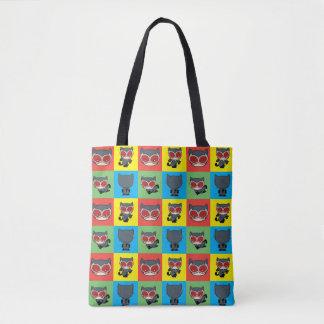 Chibi Catwoman Character Poses Tote Bag