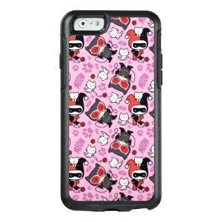 Chibi Catwoman, Harley Quinn, & Kittens Pattern OtterBox iPhone 6/6s Case