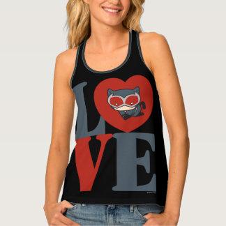 Chibi Catwoman LOVE Singlet