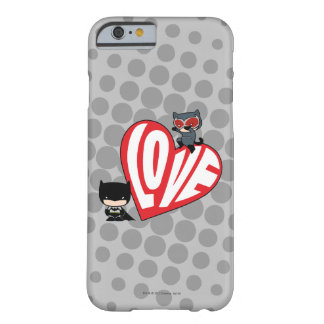 Chibi Catwoman Pounce on Batman Barely There iPhone 6 Case